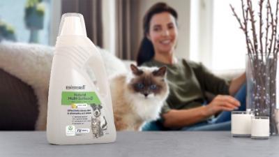 Le migliori prestazioni di pulizia in modo 100% naturale: la nuova soluzione Bissel Natural Multi Surface per la pulizia dei pavimenti
